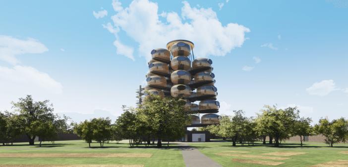 Le château des Pères innove avec un hôtel futuriste