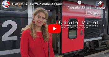 TGV LYRIA – Le train entre la France et la Suisse
