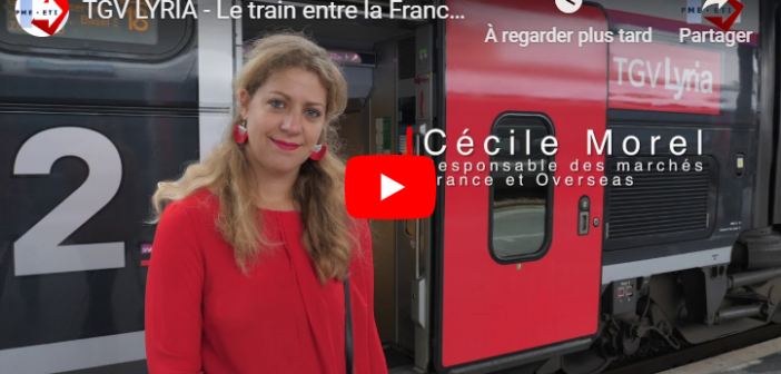 TGV LYRIA – Le train entre la France et la Suisse