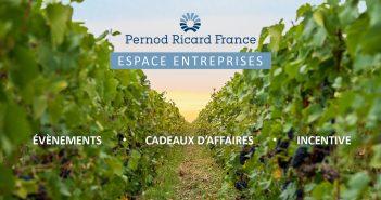 Vos cadeaux d'affaires avec Pernod Ricard France !